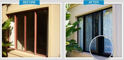 How To Clean Aluminum Window Frames