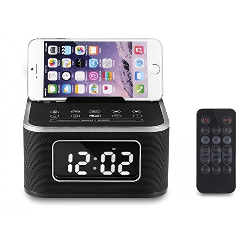 newest 84936 0a71c Smart Home Alarm Clock Bluetooth Speaker Stereo Music FM Radio ...