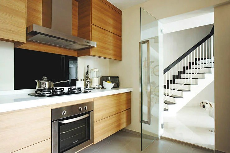 Kitchen Design Ideas 10 Simply Stylish Wood Tone HDB Flat