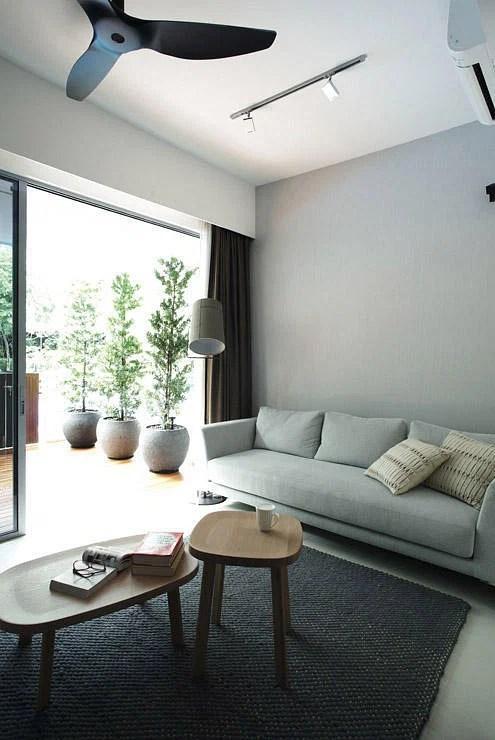 Balcony Design Singapore Living Room