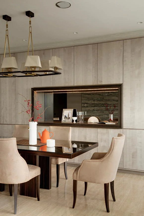 8 Stylish Modern Classic Dining Rooms To Inspire You Home Amp Decor Singapore