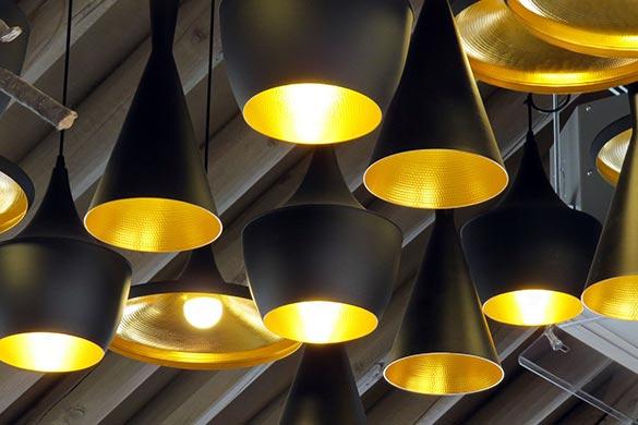 Interior design ideas for light fixtures