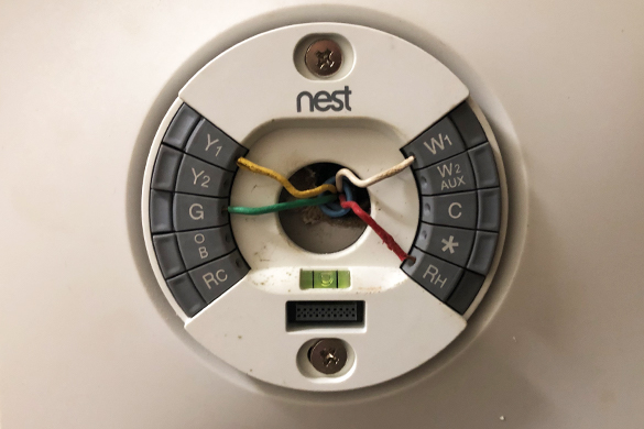 Digital smart thermostat installation