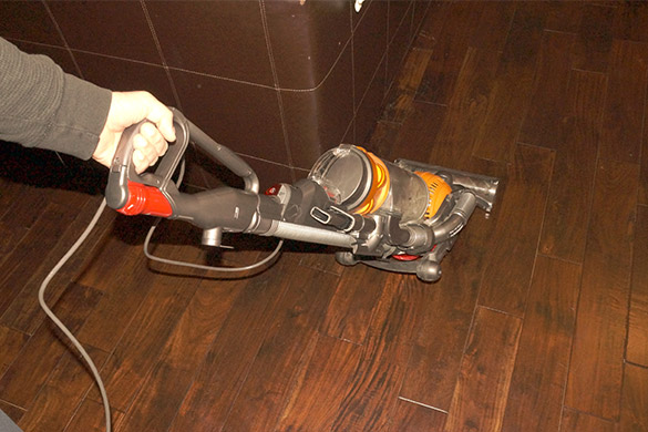 Vacuum the house before vacation