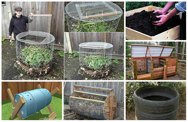 18 Ingenious Diy Compost Bin Ideas Home And Gardening Ideas