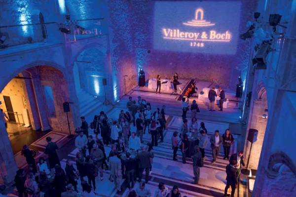 Organised by Villeroy & Boch in conjunction with leading international architecture and design online platform Dezeen and the Spanish Luxury Federation, the Smart Design & Wellbeing event was held in October at the Convent dels Àngels in Barcelona - Home and Lifestyle Magazine