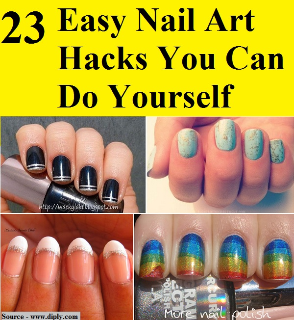 Nails You Can Do At Home Beautify Themselves With Sweet