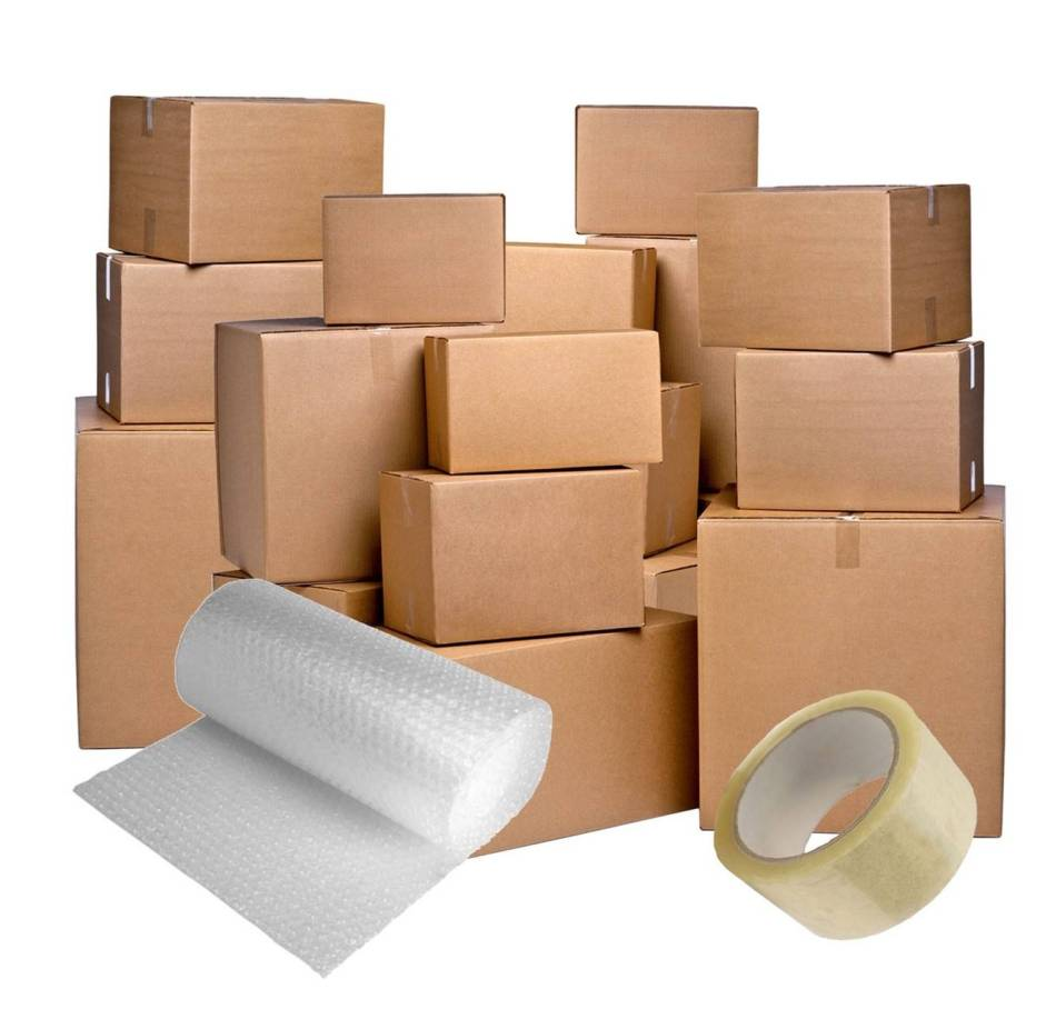 Boxes and packaging materials