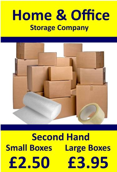 Home & Office Poster 5 Large and Small Boxes Portrait