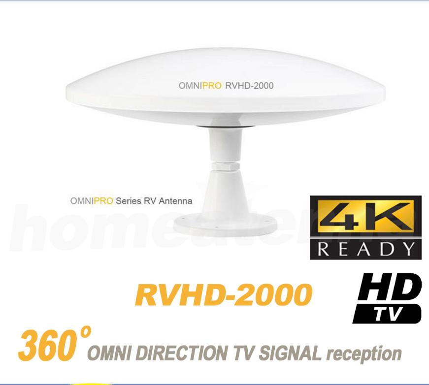 LAVA Omnipro 4K RV & Marine UHF/VHF HDTV Antenna HD-2000-0
