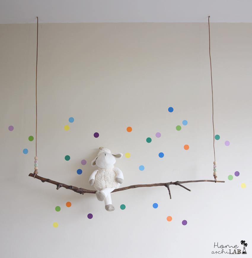decoracion pared infantil