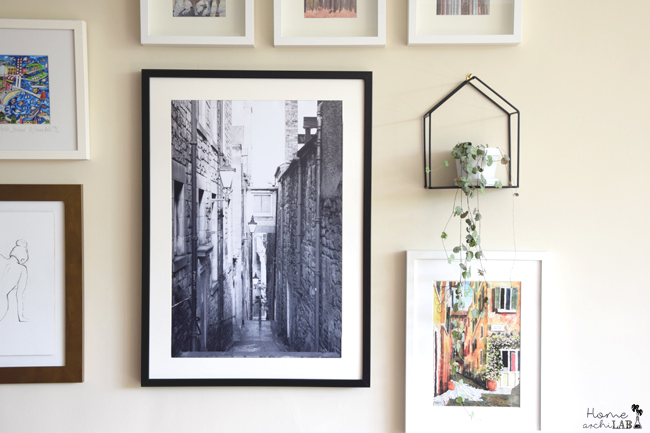 5 Tips para crear tu propia composición de cuadros La Gallery Wall de mi salón: errores y consejos