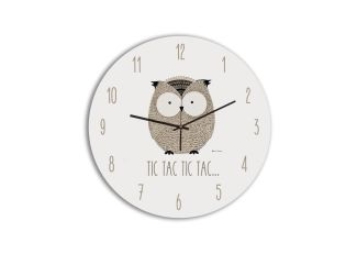 RELOJ INFANTIL LITTLE ANIMALS OWL