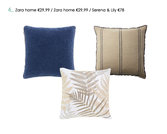 Cojines Zara Home.How To Mix And Match Cushions Home Archilab