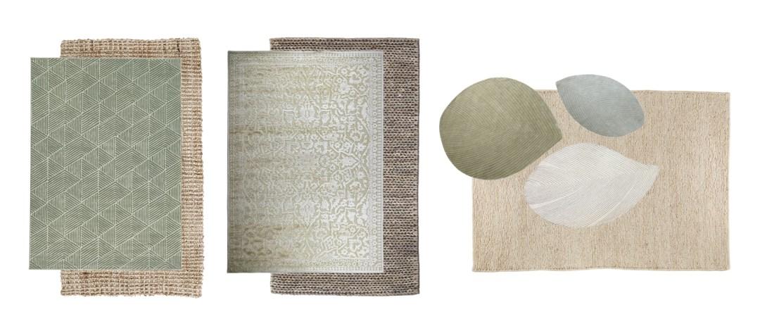 tamaños de alfombras para sala