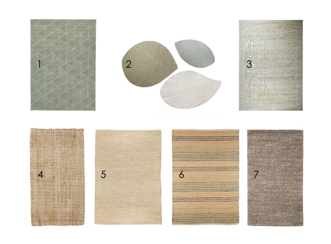 como elegir alfombras para salon