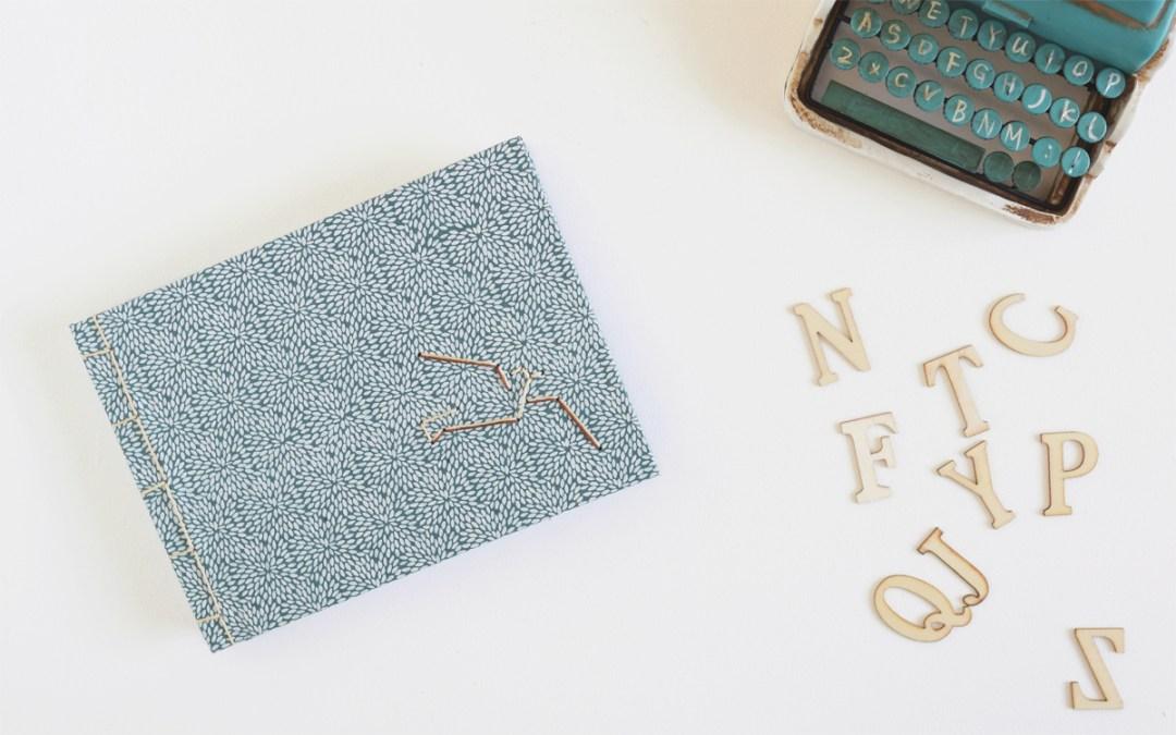 ENCUADERNACION JAPONESA PASO A PASO Tutorial DIY para hacer tu propio cuaderno artesanal
