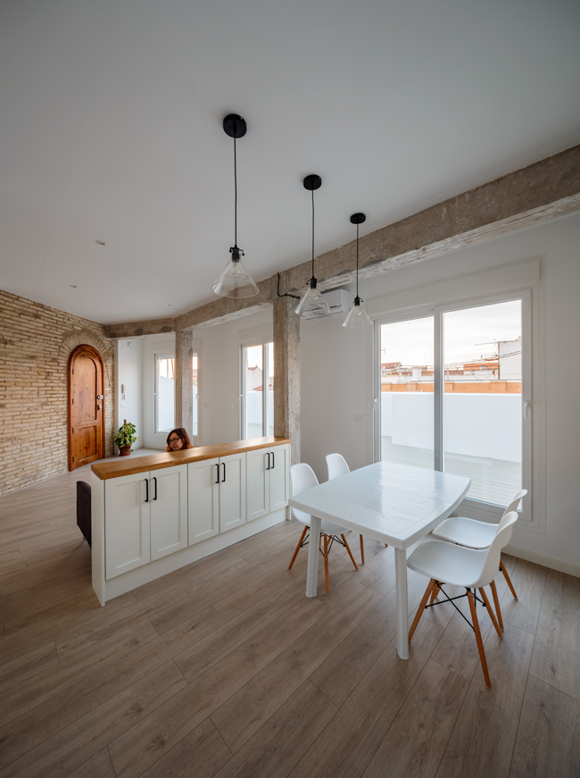 pisos con terraza en Valencia