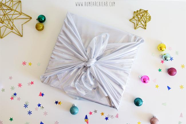 envolver regalos con tela