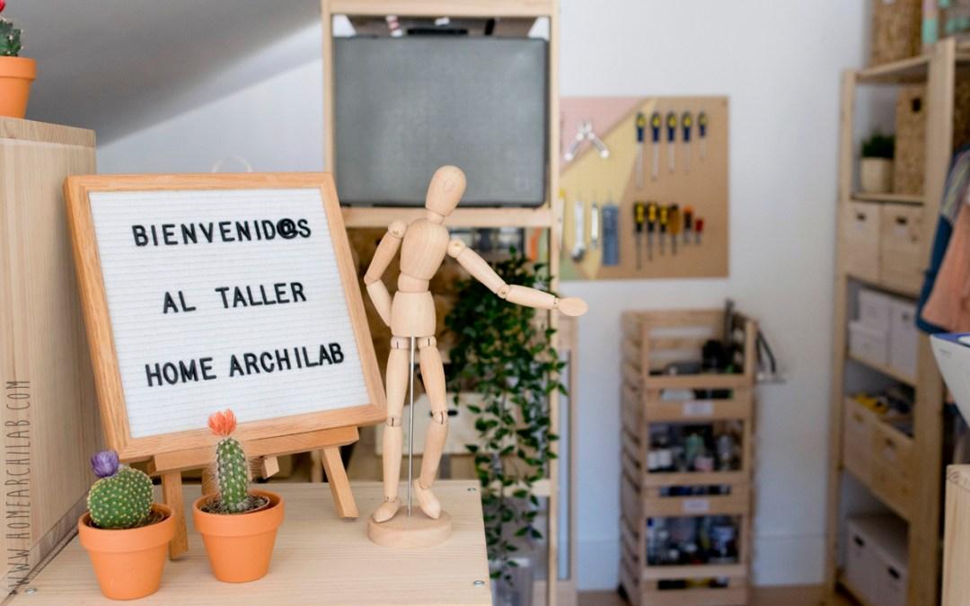 DISEÑO Y ORGANIZACION DEL TALLER DOMESTICO Con un sistema de almacenaje que se adapta a todas las necesidades y espacios
