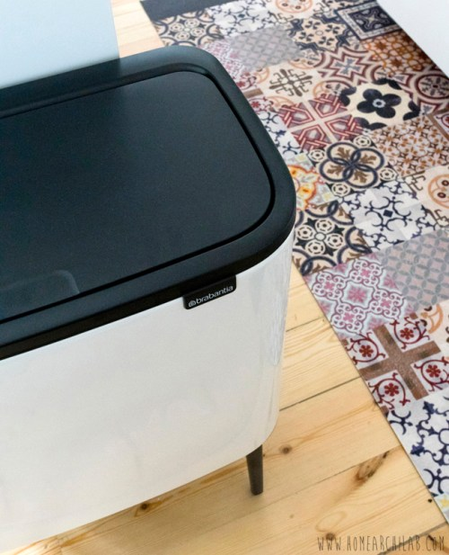 reciclaje en cocina abierta