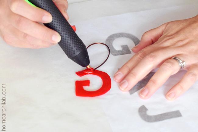 letras de silicona caliente