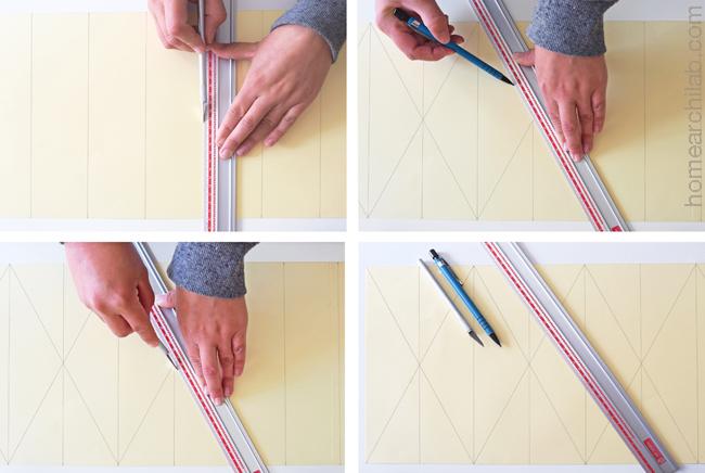 lámpara de origami DIY