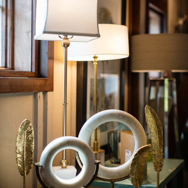 lamps and interior decor