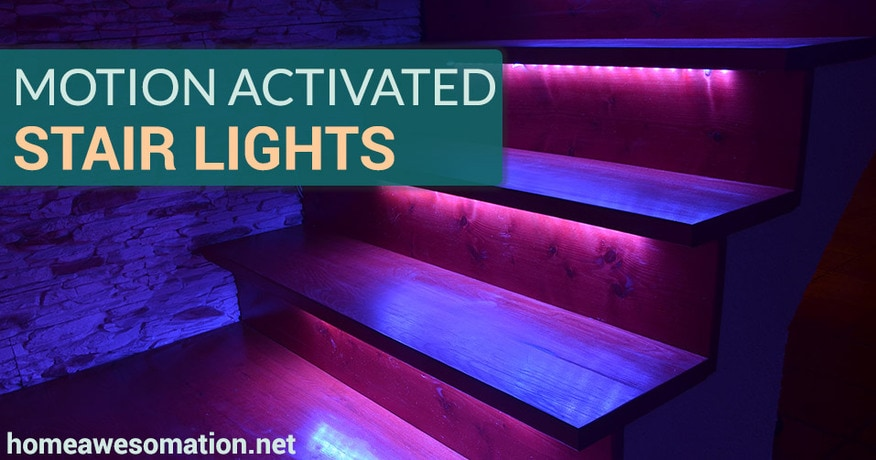 motion activated stair lights keep