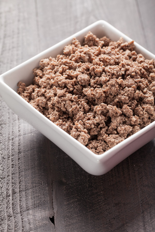 Cooked Hamburger Meat
