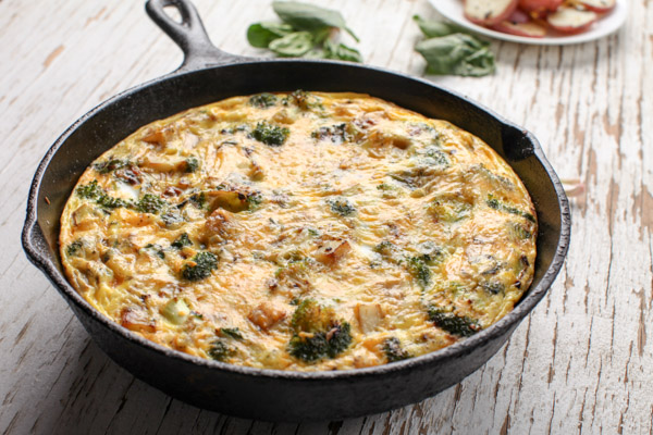 Egg Broccoli Potato Skillet