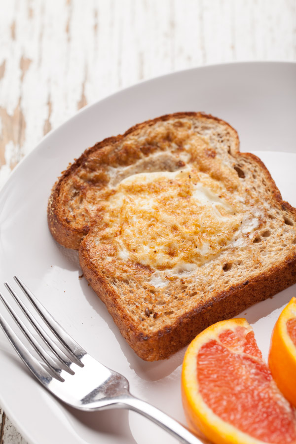 Toad in a Hold Egg Breakfast