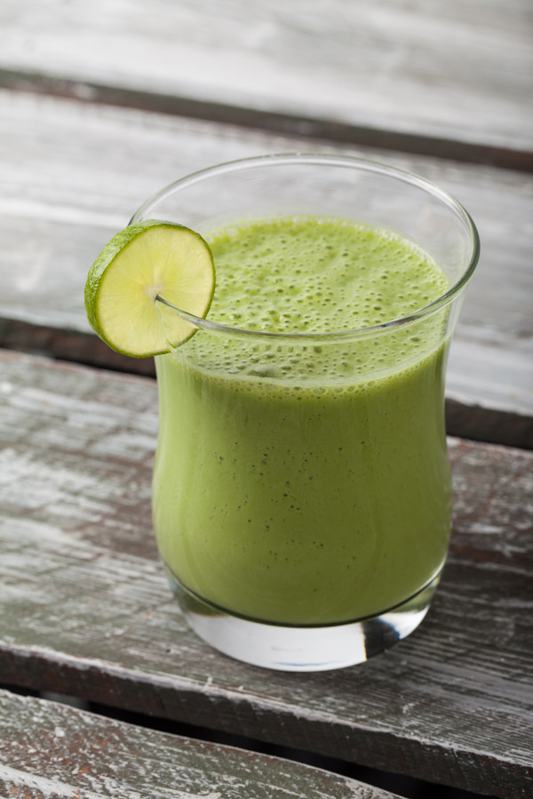 Key lime green smoothie