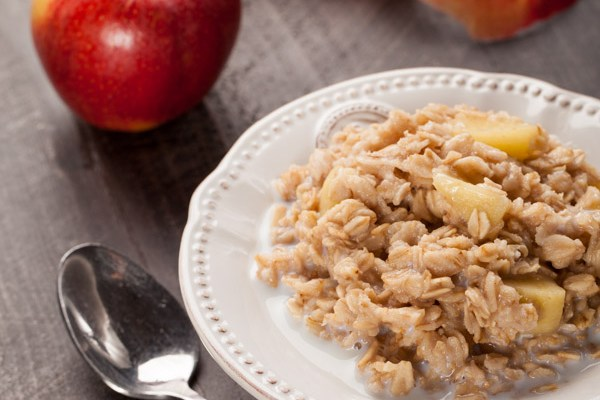 Apple Walnut Cinnamon Oatmeal