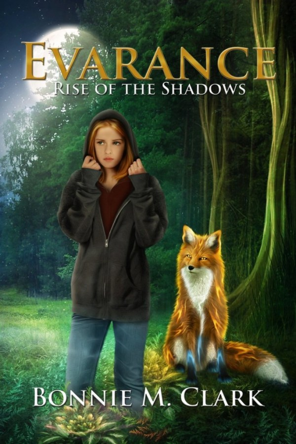Evarance Rise of the Shadows Front Cover