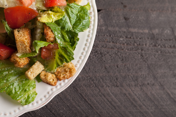 Italian Salad with Croutons