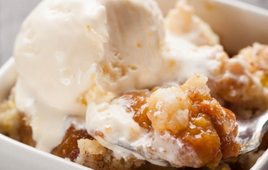 The World's Best Peach Crisp Recipe