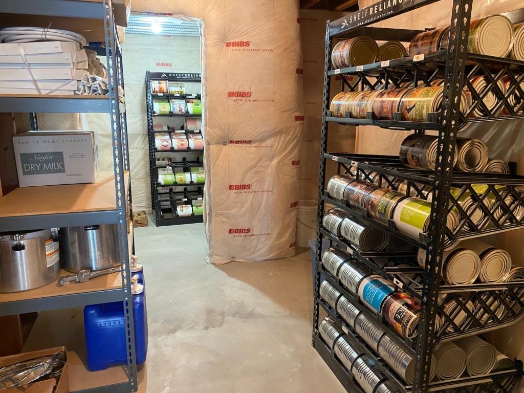 Surviving the Coronavirus pandemic - Food Storage