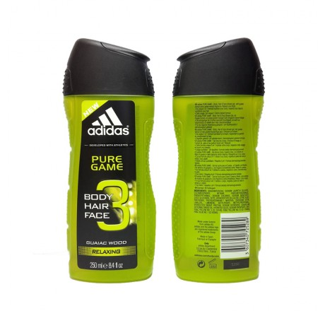 Image result for Adidas Shower Gel 250mL (Pure Game)