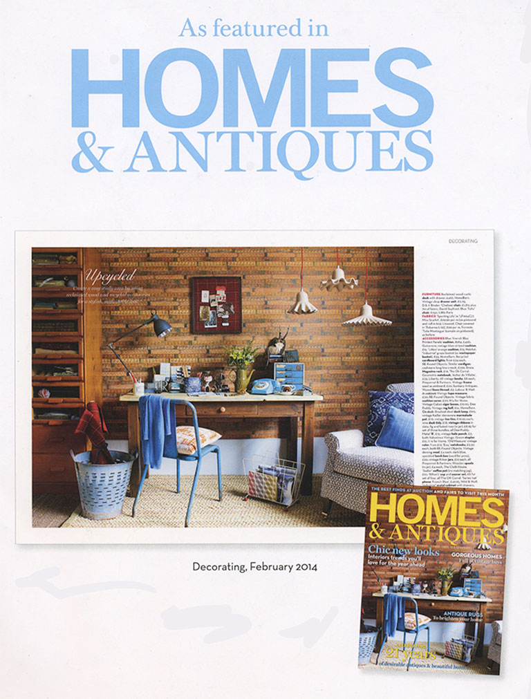 Home Barn are please to be featured on the front cover of Homes and Antiques Magazine.
