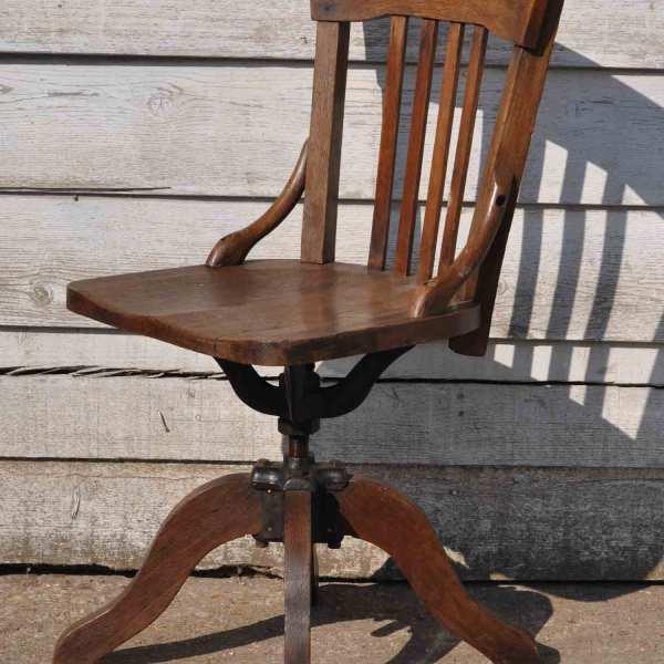 homebarn-antique-oak-office-chair-2