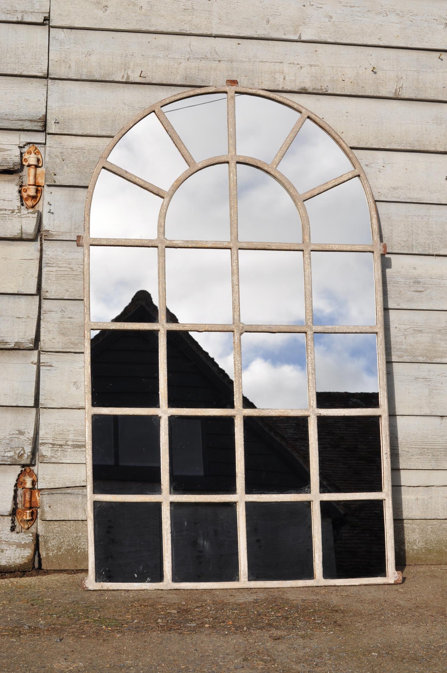 reclaimed vintage factory mirror
