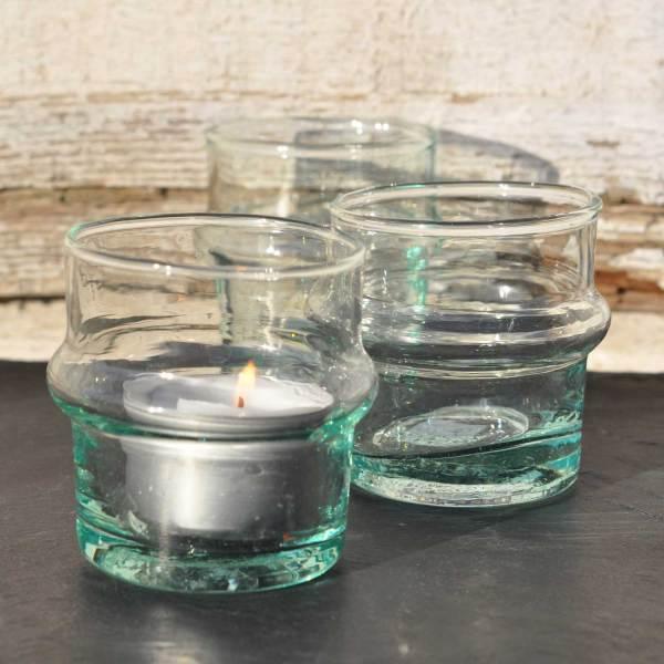 homebarn-hand-blown-glass-tealigh-holder