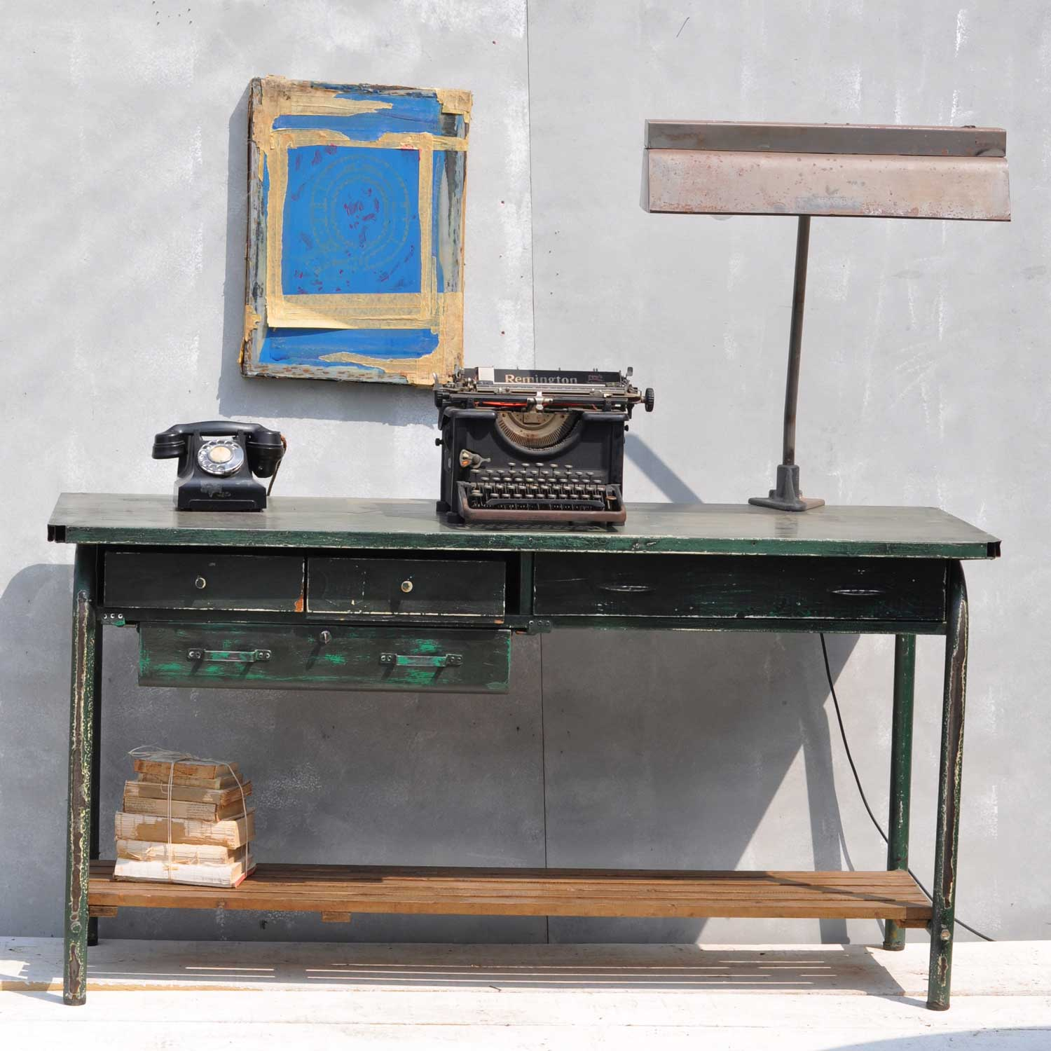 1940's Military Stores Desk -