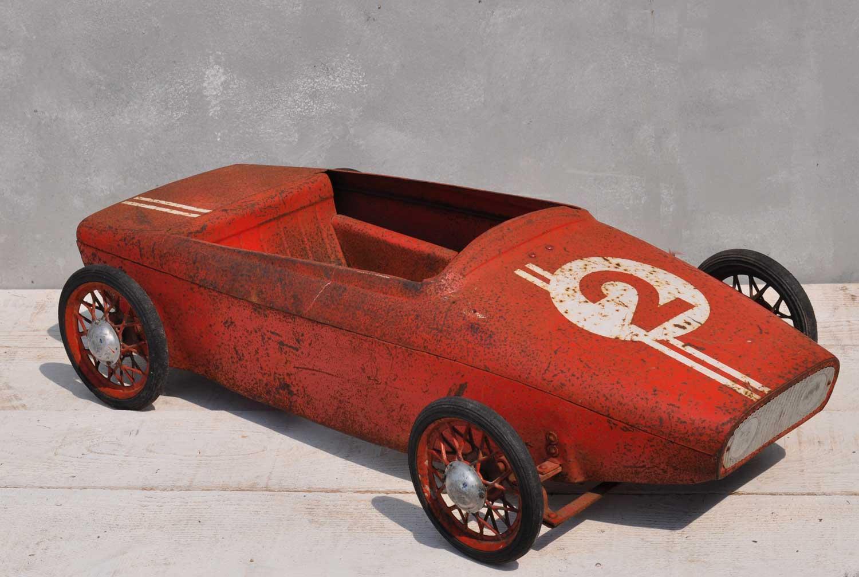 1940's Vintage Lotus Pedal Car
