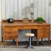 1930's-Vintage-Oak-Gentlemans-Desk-and-Drawers-11