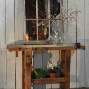Vintage-Solid-Timber-Console-Table-Work-Bench-With-Vice-2
