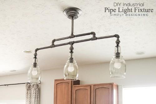diy a rustic chandelier