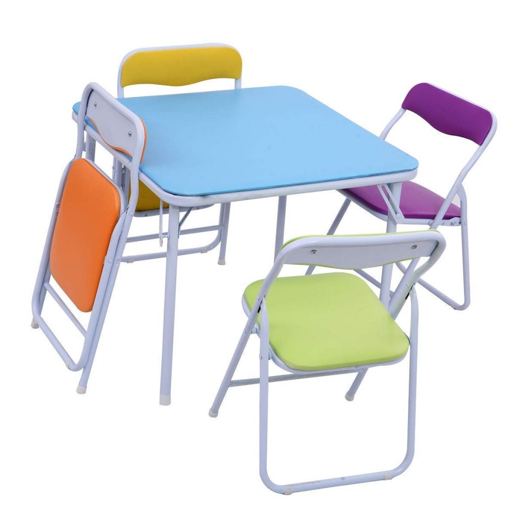 Best Kids Folding Table And Chairs Sets Review November 2018