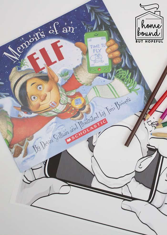 Memoirs Of An Elf- Christmas Story Time- Elfie Printable